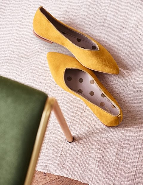 Julia Pointed Flats - Tuscan Sun