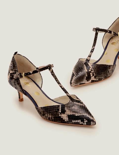 Claudia Kitten Heels - Multi Snake