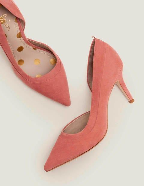 Sophia Mid Heels - Dark Chalky Pink