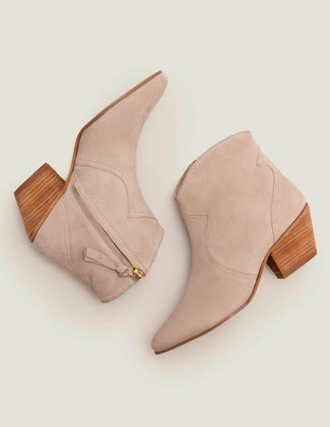 Northumbria Ankle Boots - Oatmeal