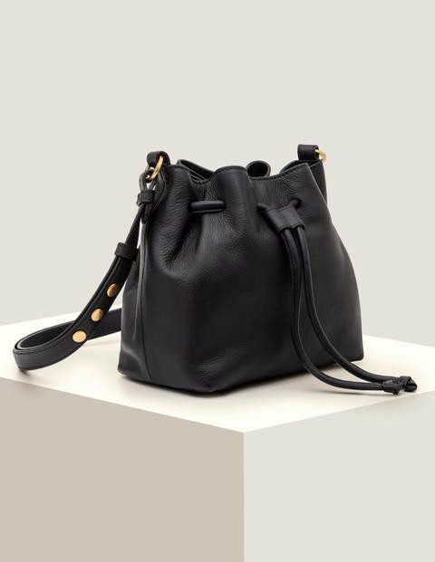 Mini Octavia Drawstring Bag - Navy
