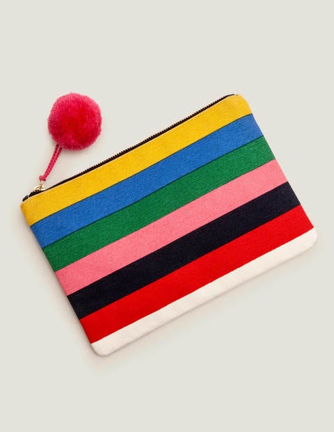 Canvas Pouch - Multistripe