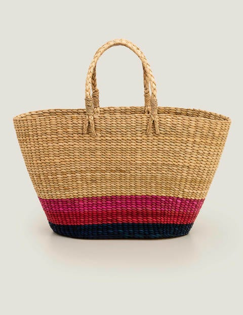 Ceres Straw Basket Bag