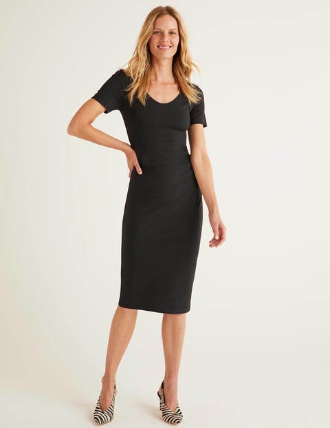 Honor Ponte Dress - Black