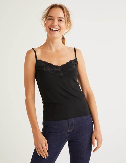 Lace Cami - Black