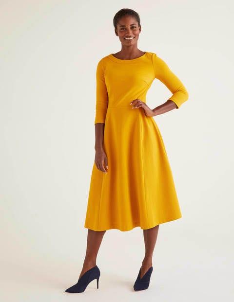 Maisy Ottoman Dress - Tuscan Sun
