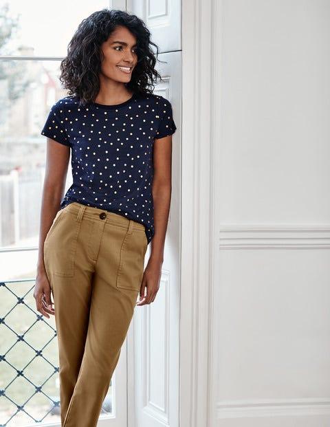 Henrietta Jersey-T-Shirt