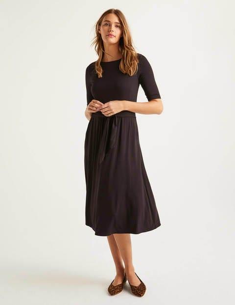 Eloise Jersey Dress - Black
