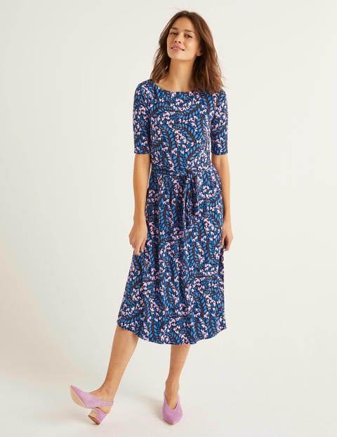 Eloise Jersey Dress - Navy, Jolie