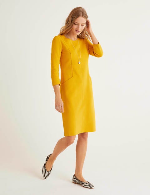 Ellen Ottoman Dress - Tuscan Sun