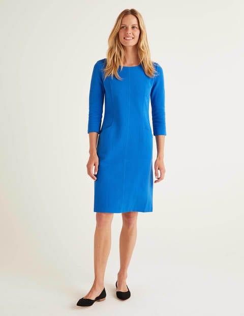 Ellen Ottoman Dress - Bold Blue