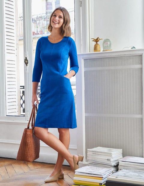 Ellen Ottoman-Kleid - Kräftiges Blau