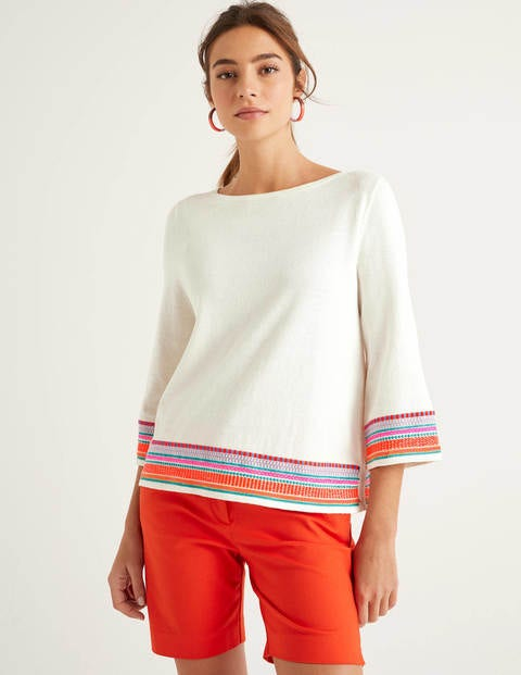 Colette Embroidered Sweater