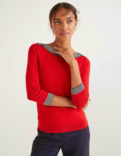 Gloucester Sweater - Post Box Red