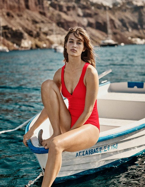 Lindos Swimsuit - Hot Pepper