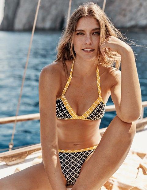 Patmos Halterneck Bikini Top - Navy, Link