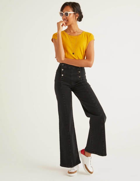 Sailor Wide Leg Jeans