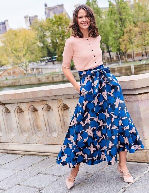 Brooke Belted Skirt