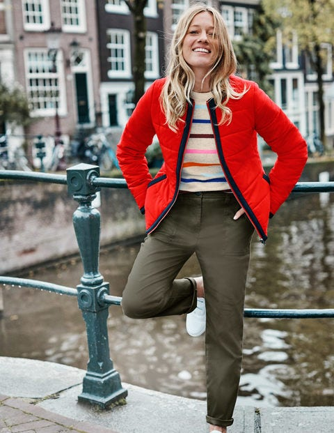 Fildes Puffer Jacket - Post Box Red