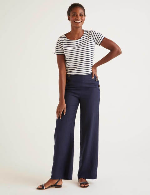 Pantalon Falmouth en lin
