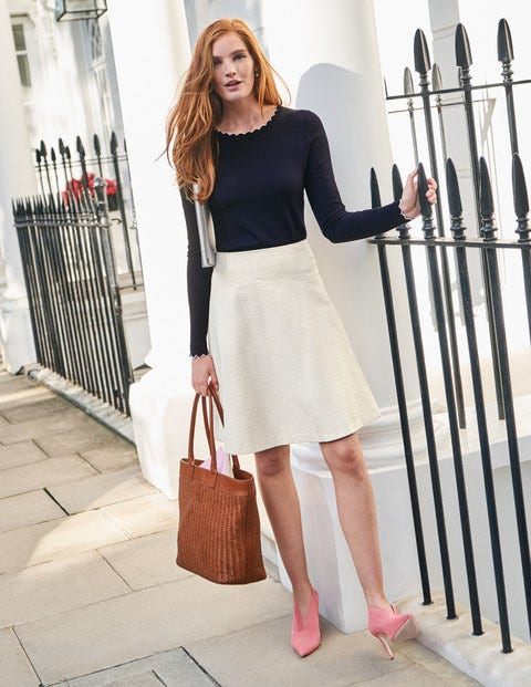 Catherick Textured Mini Skirt