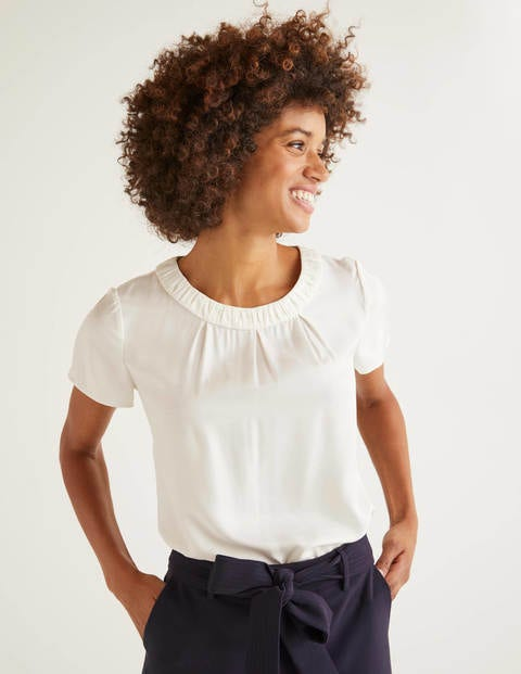Carey Top - Ivory