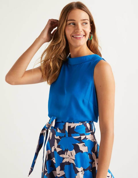 Adriana Top - Bold Blue