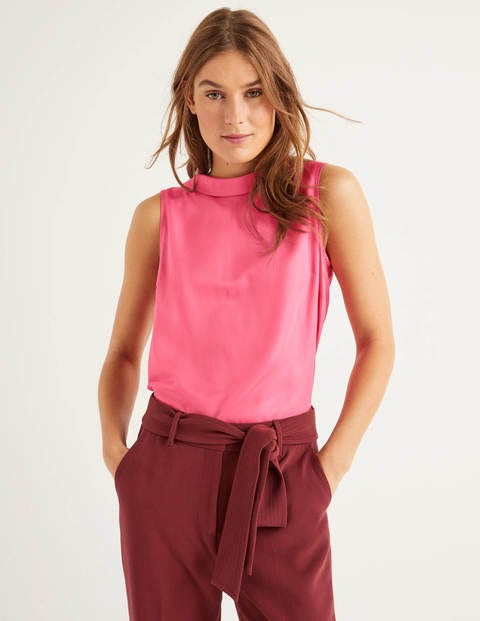 Adriana Top - Bright Camellia
