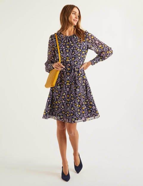 Blossom Kleid NVY Damen Boden, NVY