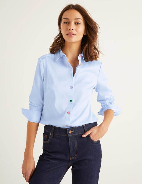 Grace Shirt - Oxford Blue