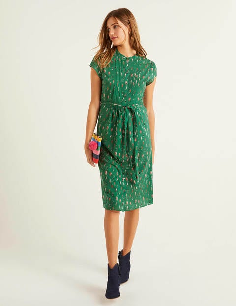 boden - Clare Hemdblusenkleid Green Damen , Green