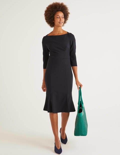 Violette Dress - Navy