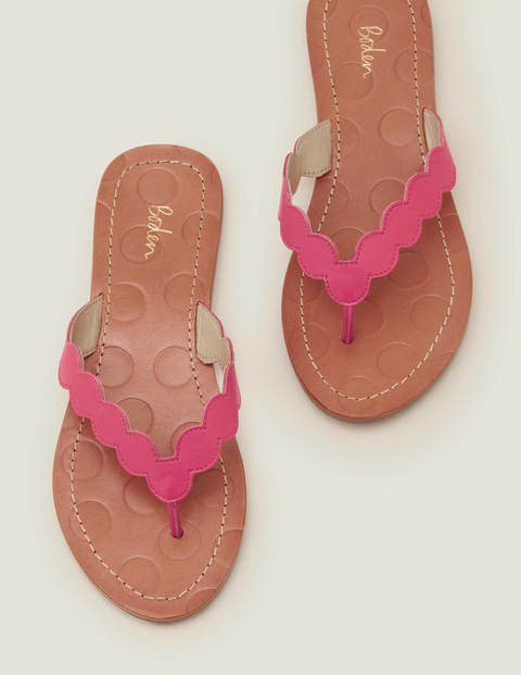 Harriet Flip Flops - Party Pink