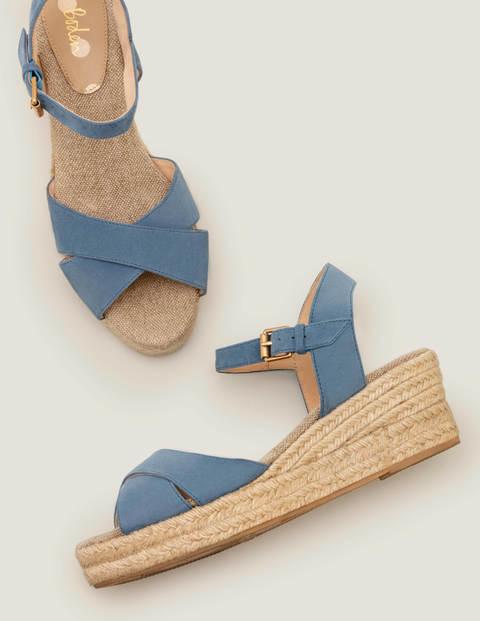 Jasmine Espadrilles Mit Keilabsatz - Matrosenblau