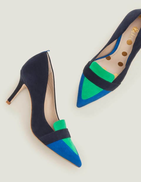 Scarlett Pumps - Navy/Bunt