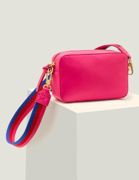 Valeria Crossbody Bag - Party Pink