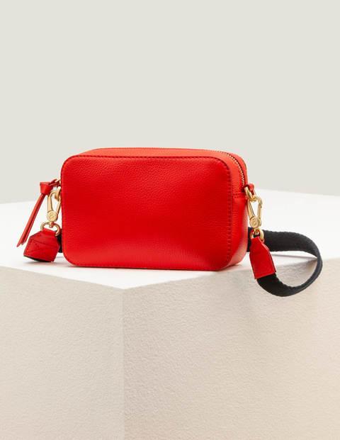 Valeria Crossbody Bag - Post Box Red
