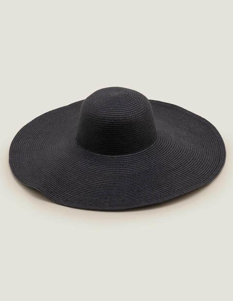Chapeau de plage - Bleu marine