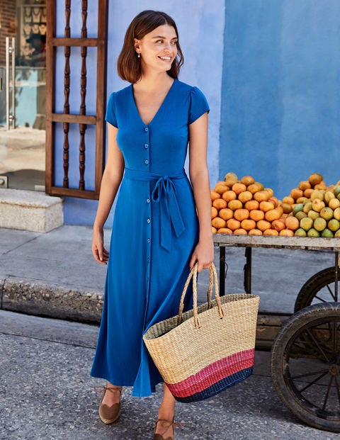 Frances Jersey Midi Dress