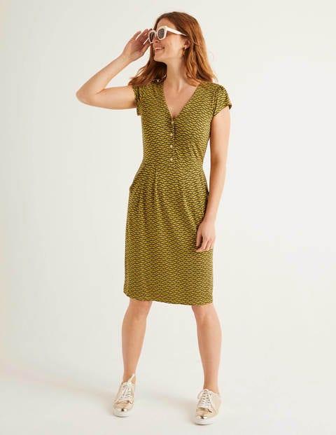 Alberta Jersey Dress - Tuscan Sun, Pretty Petal