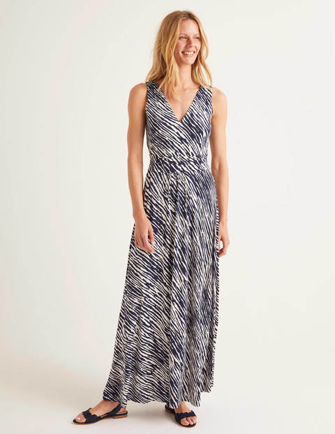 Sienna Jersey Maxi Dress - Navy, Safari