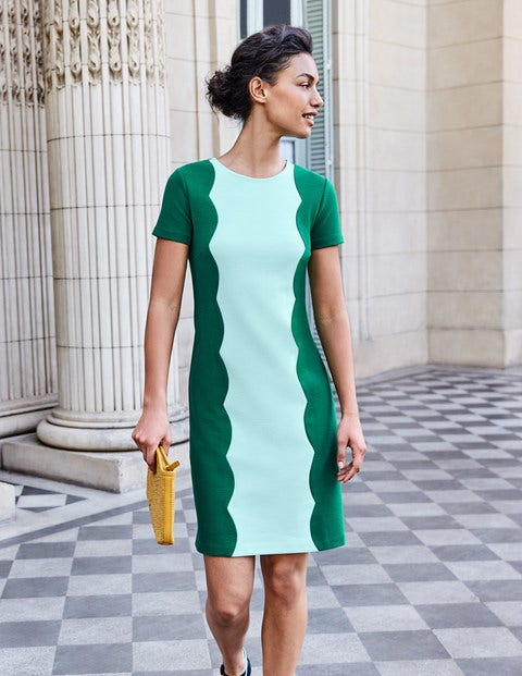 Ruth Ottoman Shift Dress
