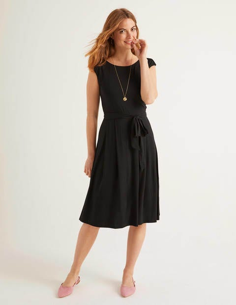 Esmeralda Jersey Dress - Black