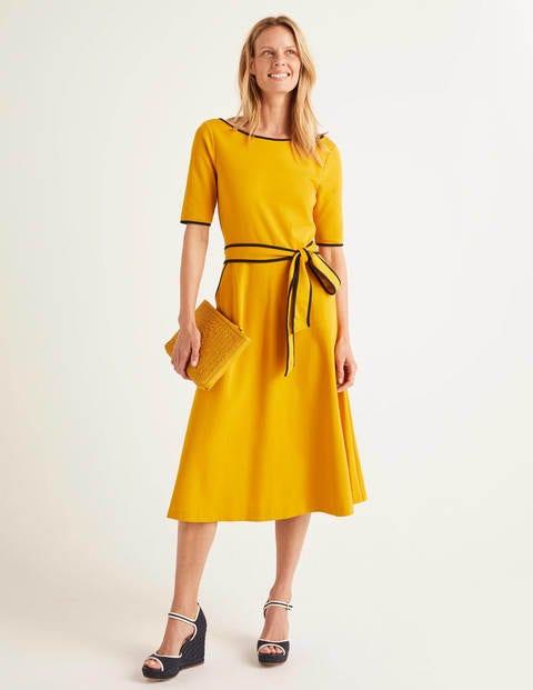 Ruby Ponte Midi Dress - Tuscan Sun