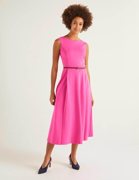Mary Ponte Midi Dress