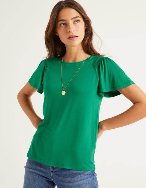 Charlotte Jersey Top - Forest