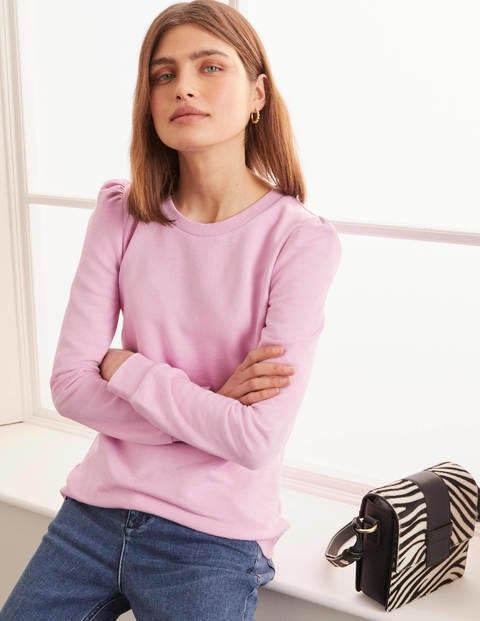 Puff Sleeve Sweatshirt - Rosebay