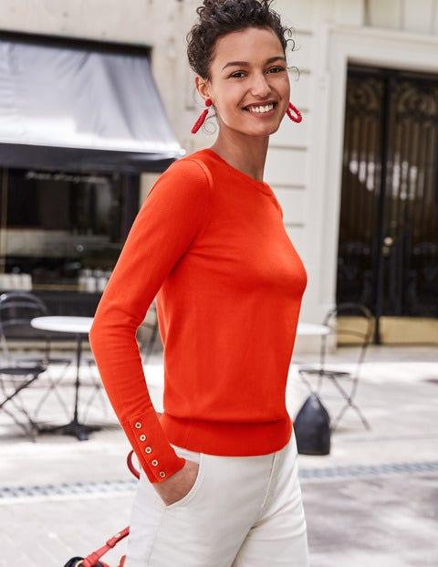 Eldon Sweater - Orange Sunset