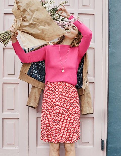 Eldon Baumwollpullover - Helles Pink