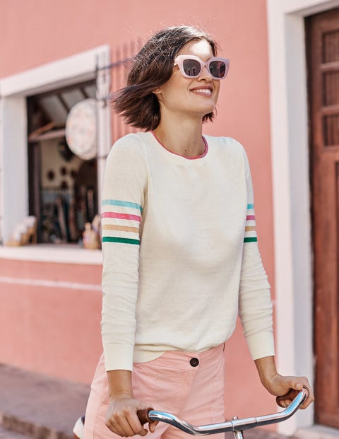 Banbury Cotton Jumper - Ivory